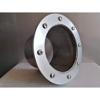 Prostupy-příruby - Příruba nerez/PVC 160mm pro KG