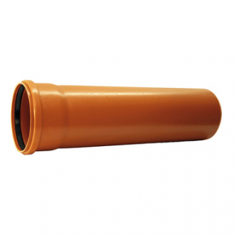 Instalaterský materiál - KGEM trubka s hrdlem pro kanalizaci DN 160