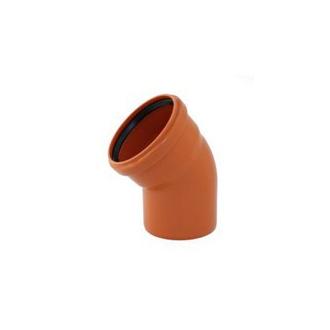 Instalaterský materiál - Koleno jednohrdlové 30° PVC