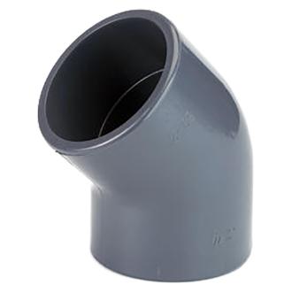 PVC tvarovka - Úhel 45° 40mm, koleno