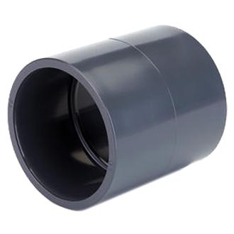 PVC tvarovka - mufna, 2x lepený spoj, 50 mm