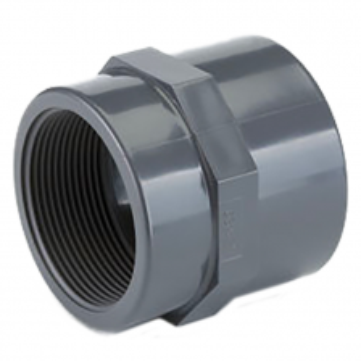 PVC tvarovka - přechodka, vnítřní závit, 20mm x 1/2